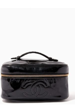 Chanel Vintage Women Toiletry Bags - Vanity Bag in Patent Leather