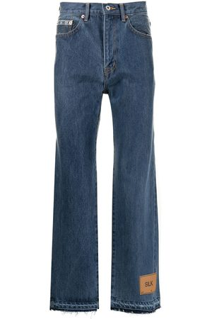 DOUBLET Men Bootcut & Flares - Bootcut cropped jeans