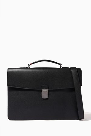 Bally Women Laptop Bags - Galberg Briefcase in Grained Leather