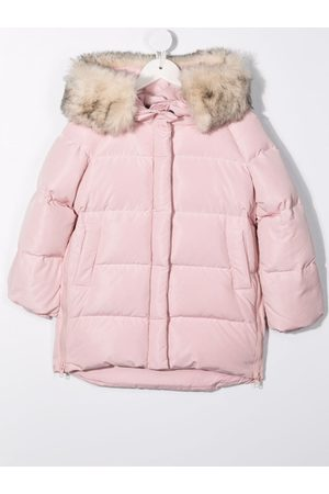 MONNALISA Down-filled quilted coat