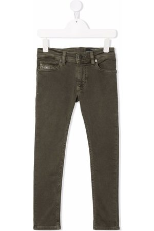 Diesel Boys Stretch Pants - Sleenker stretch-cotton trousers