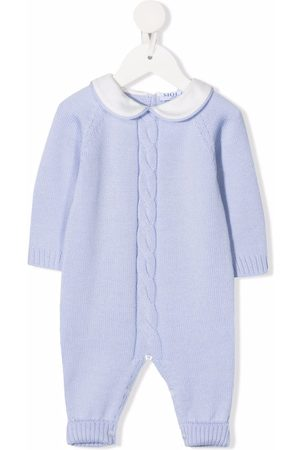 SIOLA Cable-knit merino-wool romper
