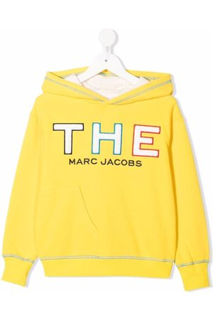 The Marc Jacobs Boys Hoodies - Logo patch hoodie