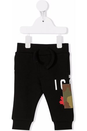 Dsquared2 Pants - Camouflage-patch track pants
