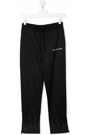 Vision Of Super Pants - Logo-print track trousers