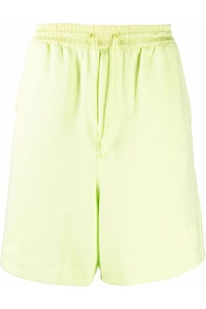 Y-3 Knee-length cotton shorts
