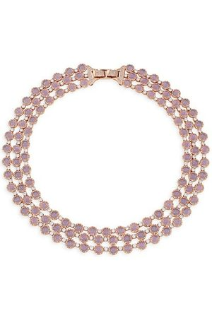 Theia Men Necklaces - Giselle Lavender Moonstone Three-Strand Necklace