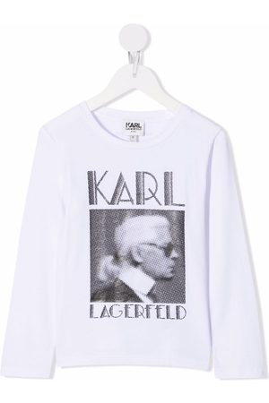 Karl Lagerfeld Picture print T-shirt