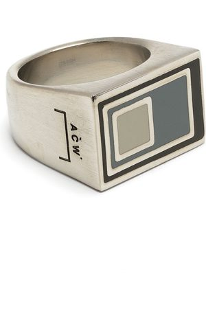 A-COLD-WALL* Vertical laser-etched ring
