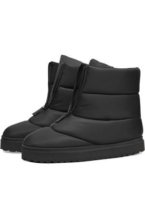 GIA Men Snow Boots - Short Puffy Boot In Technical Fabric