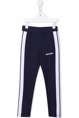 Palm Angels PALM ANGELS TRACK LEGGINGS NAVY WH