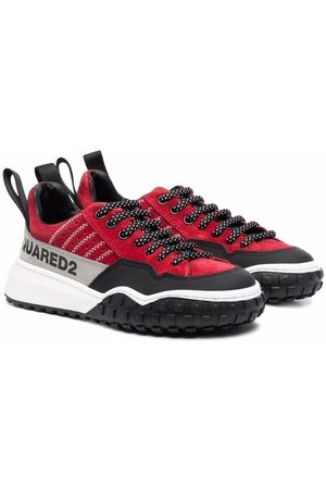 Dsquared2 Kids Boys Sneakers - Colour-block chunky sneakers