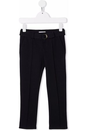 Chloé Girls Pants - Buckle fastening trousers