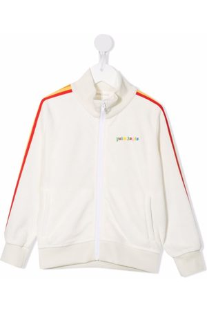 Palm Angels Kids Girls Tops - PALM ANGELS TRACK TOP MULTICOLOR