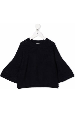 Il gufo Ribbed-knitted jumper