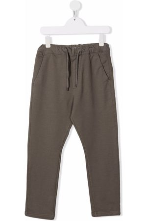 Paolo Pecora Kids Drawstring casual trousers