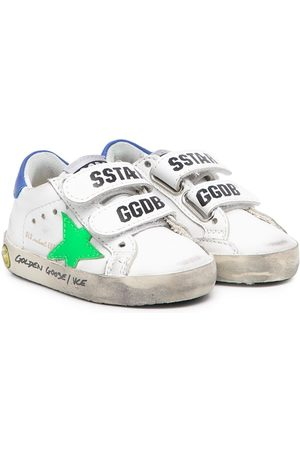 Golden Goose Old School touch-strap sneakers