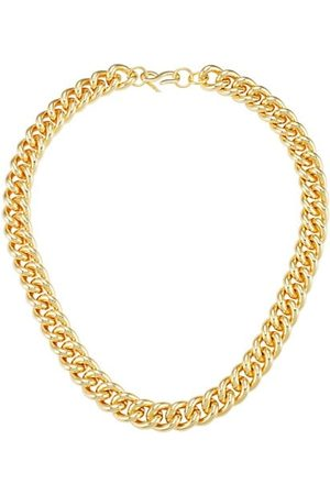 Kenneth Jay Lane Polished Goldtone Curb Chain Necklace