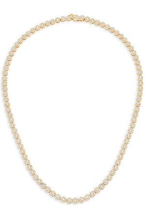 THEIA 14K Gold-Plated & Cubic Zirconia Necklace