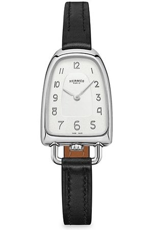 Hermès Galop 26MM Stainless Steel & Leather Strap Watch