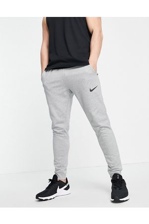 Nike Dri-FIT tapered joggers in light