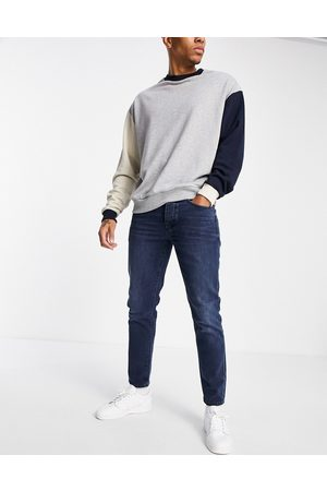 SELECTED Slim tapered jeans in
