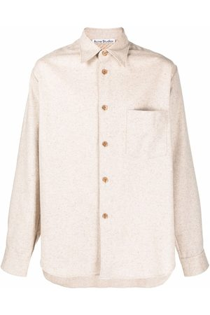 Acne Studios Pointed-collar button-front shirt
