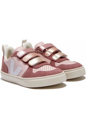 Veja Touch-strap leather trainers