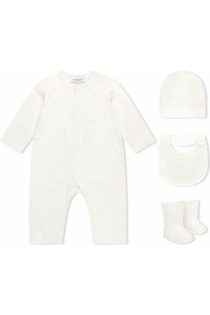 Emporio Armani Chunky knitted romper set