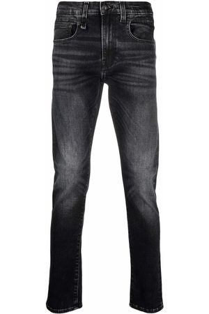 R13 Skinny-cut washed jeans