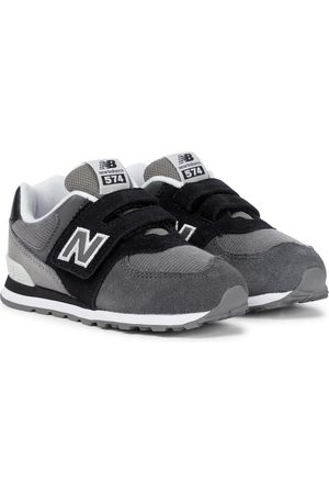 New Balance 574 Color Theory suede sneakers