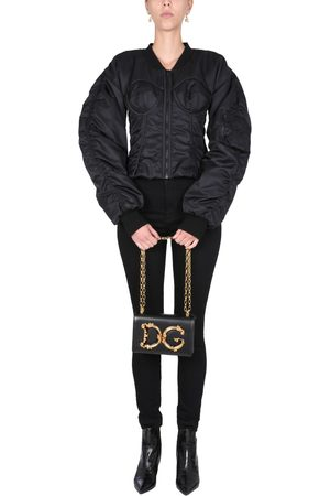 Dolce & Gabbana BOMBER WITH BUSTIER DETAILS
