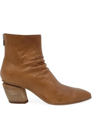 Officine creative Women Ankle Boots - Tan Leather Severine/008 Ankle Boot