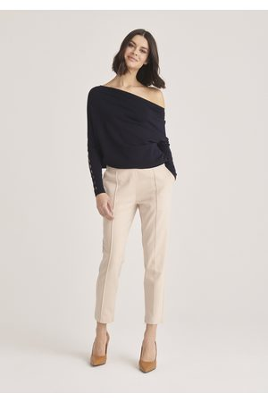 Paisie Off Shoulder Knitted Top