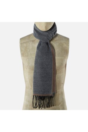 Universal Works Double Sided Scarf Dark /Sand