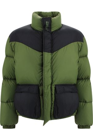 Msgm COLOR BLOCK PUFFER JACKET