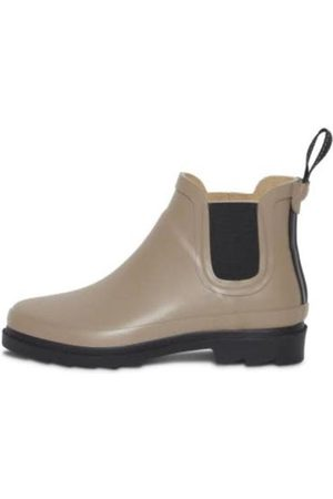 Ichi Women Ankle Boots - Women s Iapiah Natural Rubber Ankle Boots