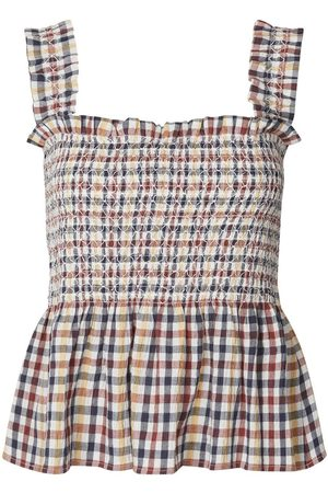 Lollys Laundry Lollys Laundry July Top in Check Print