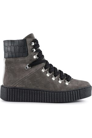 Shoe The Bear Agda Suede Boots Dark