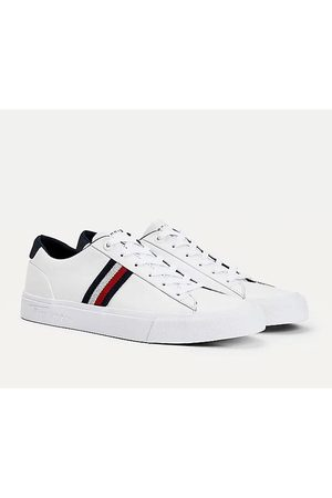 Tommy Hilfiger Men Sneakers - Tommy signature tape leather trainer, Title: