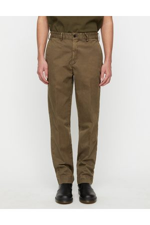 Schnaydermans Tailored Trousers Overdyed Army Green