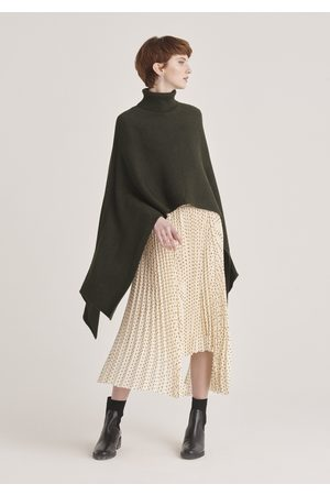 Paisie Women Ponchos & Capes - Pre-Order Knitted Cape