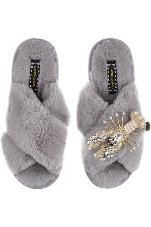 Laines London Laines pearl & gold lobster slippers, Title: