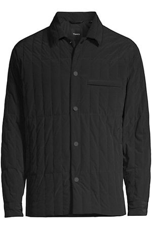Theory Walker Quilted Overshirt