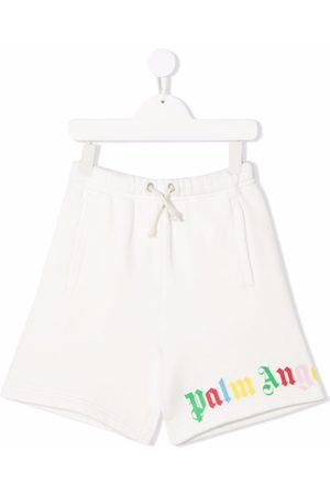 Palm Angels Kids CLASSIC OVER LOGO SHORT MULTICOLOR