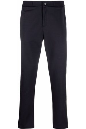 Ron Dorff Side-stripe buttoned track pants