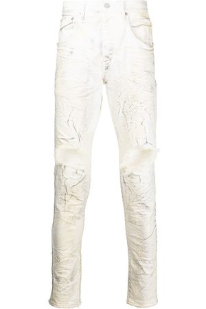 Purple Brand Mis-rise tapered jeans