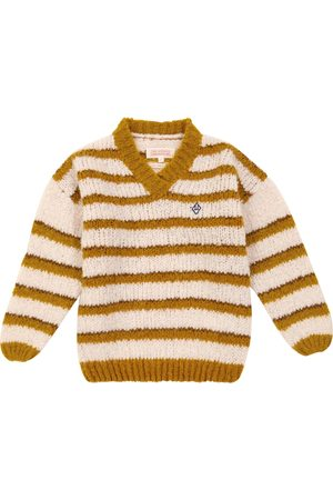 The Animals Observatory Stripes Toucan wool-blend sweater