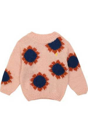 The Animals Observatory Bull floral wool-blend sweater