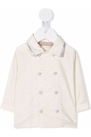 La Stupenderia Double-breasted fitted shirt